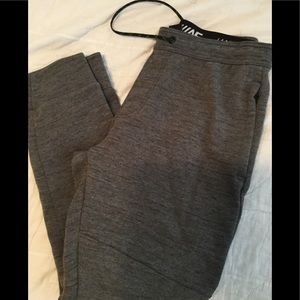 American Eagle joggers gray and black SZ med NWOT